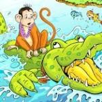 लालच का नाम पतन और पतन का नाम खत्म- बन्दर और एक मगरमच्छ की कहानी