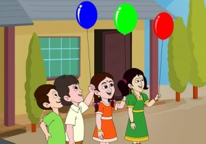 ballon story in hindi