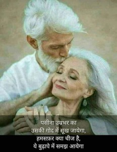 hindi old man story